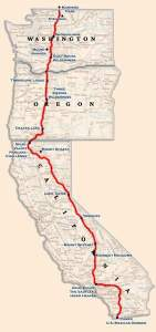 pct trail map